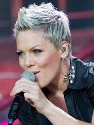 hair styles from singers pink s changing looks singers rock and pixies