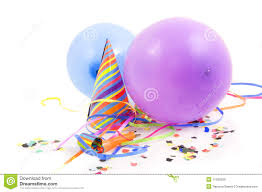 party stuff colorful party stuff decoration royalty free stock images image