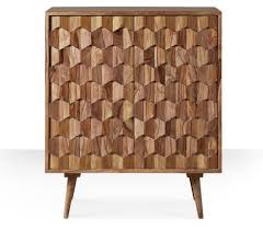 Retro Bar Cabinet Zabel Midcentury Style Bar Cabinet At Swoon Editions Retro To Go