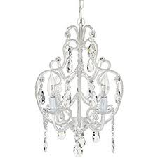 Gallery 74 Chandelier White Wrought Iron Floral Chandelier Crystal Flower Chandeliers