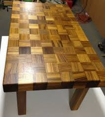 Custom Coffee Tables by Custom Coffee Table Made From Recycled Teak Wood Diy Diy Tips