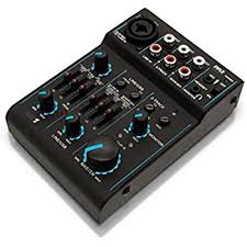 Best Small Mixing Desk Alesis Multimix 4 Usb Fx 4 Channel Mixer With