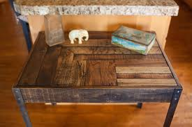 reclaimed wood computer desk 36 nice decorating with wood dining