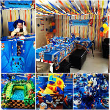 sonic the hedgehog party supplies birthday party decoration sonic boom the hedgehog sonic bday