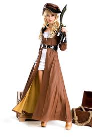 halloween costume pirates of the caribbean female models mounted