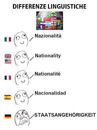 Language Differences Meme - image 271860 differenze linguistiche know your meme