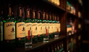 Whiskey Bottle Chandelier The Water Of Life Distilling The Jameson Story