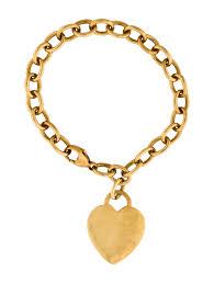 tag bracelet images Tiffany co 18k heart tag bracelet bracelets tif52803 the jpg