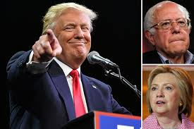 trump thanks bernie sanders for the anti hillary ammunition new