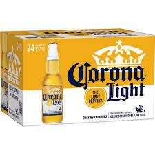 calories in corona light beer corona light longneck beer 24 pack 12 fl oz walmart com