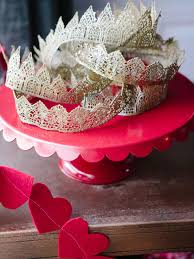How To Make Home Decorations by How To Use Lace To Make A Party Hat Crown How Tos Diy