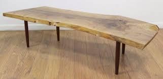 turned leg coffee table george nakashima turned leg coffee table
