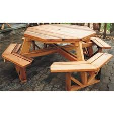 Make Your Own Picnic Table Bench by Best 25 Octagon Picnic Table Ideas On Pinterest Picnic Table