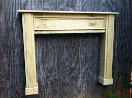 Vintage Fireplace Mantels 41 Distressed Wood Mantel Shelf Pearl Mantels Abingdon 48 Inch