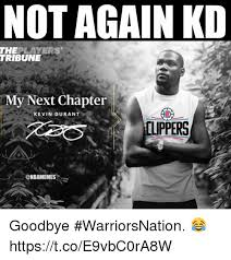 Kevin Durant Memes - not again kd theplayers tribune my next chapter kevin durant
