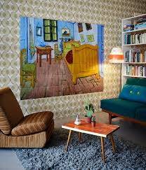 the bedroom van gogh ixxi wall decoration made with van gogh s painting the bedroom