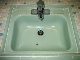 reglaze cast iron sink reglaze sink amazing of bathroom sink chipped and rusty porcelain