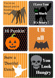 free halloween printable lunch box notes farmer u0027s wife rambles