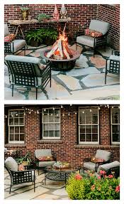 Home Depot Patio Designs Patio Design With Copper Garden Accents And Succulents