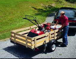 Utility Bed Trailer How To Build A Utility Trailer From A Kit 4 Steps With Pictures