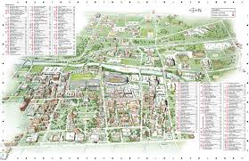 Map Testing Ohio by Columbus State University Map Map Of Columbus State University