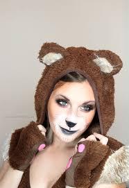 Halloween Costumes Teddy Bear Cute Bear Makeup Tutorial Halloween Bear Makeup Bears
