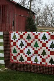 holiday tree quilt from sewn with grace pattern is