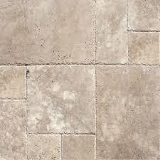 Travertine Patio Pavers by Tuscany Walnut Chiseled 6x6 Pavers Tiles Lpavtwal66ch