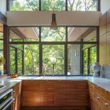 houzz glass kitchen cabinet doors 75 beautiful mid century modern kitchen pictures ideas