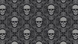 pattern wallpaper skull pattern wallpaper 15489 1920x1080 px hdwallsource com