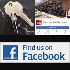 saunders ace hardware home facebook