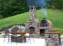 patio ideas decor tips outdoor pizza oven for living space ideas