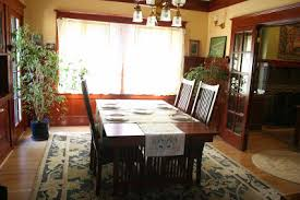 laurelhurst craftsman bungalow dining room runners finished