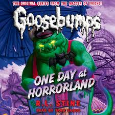 download one day at horrorland audiobook by r l stine for just 5 95