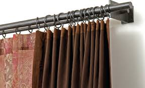 Curtain Rods To Hang From Ceiling Are There Double Rod Systems To Hang Curtains From The Ceiling