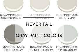 best gray paint colors benjamin moore the best gray paint colors never fail gray paints diy decor mom