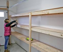 Free Woodworking Plans Garage Cabinets by Ana White Build A Easy And Fast Diy Garage Or Basement Shelving