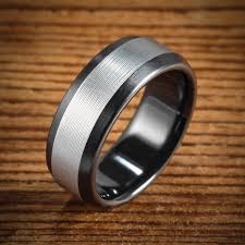 black zirconia rings images Black zirconium wedding bands wedding rings men 39 s rings by jpg