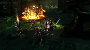 similar to dungeon siege on dungeon siege iii co op