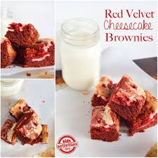 velvet cheesecake brownies