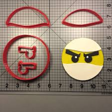 lego face cookie cutter set