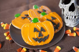 Halloween Pumpkin Sugar Cookies - party like you u0027re a kid on halloween with these kid friendly books
