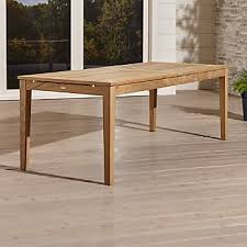 Crate And Barrel Farmhouse Table Outdoor Patio Dining Furniture Crate And Barrel