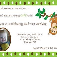1st birthday invitation wording dancemomsinfo com