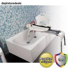 bathtub transfer bench bathroom safety ebay