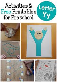 letter y activities for preschool the measured mom
