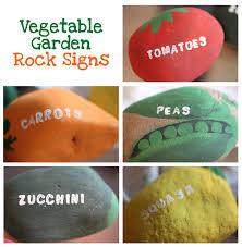 Rock Vegetable Garden Vegetable Garden Rock Signs Repeat Crafter Me