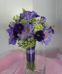 wedding flowers lavender lavender purple and green bouquet wedding flower