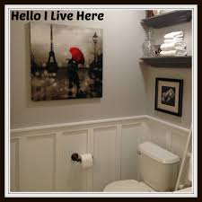 Wainscoting Bathroom Ideas by Board And Batten Wainscoting Hello I Live Here