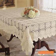 Crochet Table Cloth Crochet Lace Table U0026 Crochet Roung Placemats Manufacturer From
